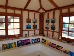 Art Exhibition at Pottery Club