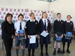 Student's achievements awarded
