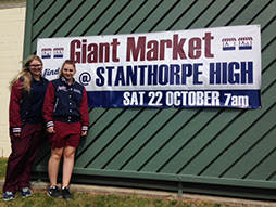 Giant market is a school and community affair