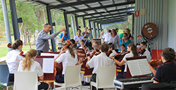Conference impressed by String Ensemble