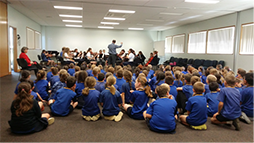 String workshop in Pittsworth